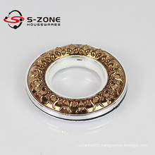 Modern special design curtain rings,curtain plastic eyelet rings